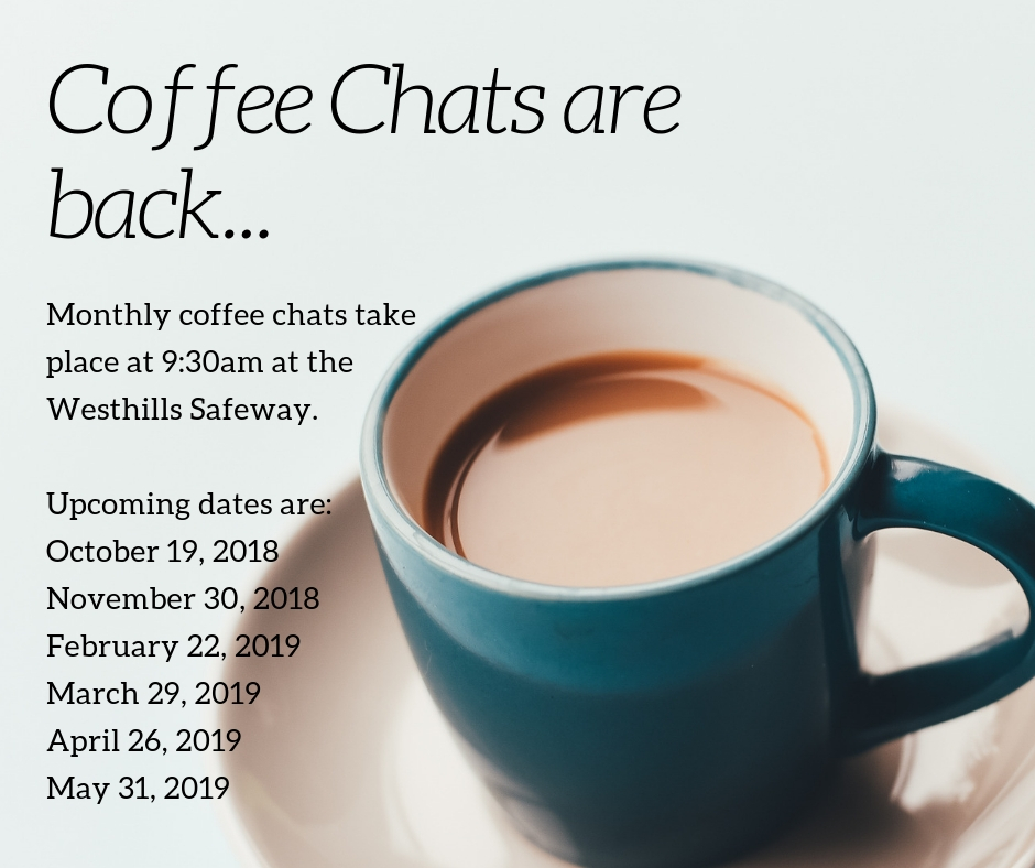 Coffee Chats are back...